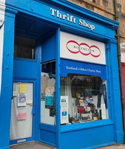 Birthlink thrift shop